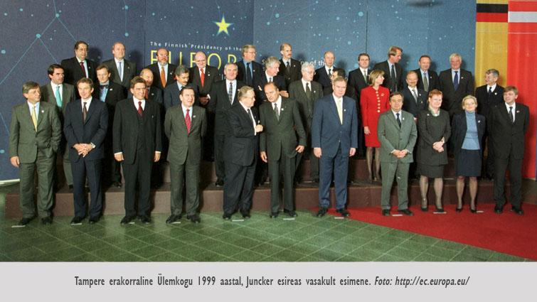 Juncker Tampere 1999