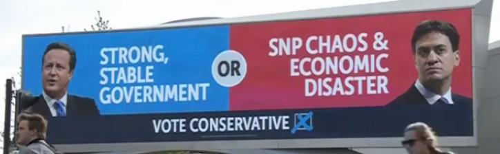 Konservatiivide valimisplakat
