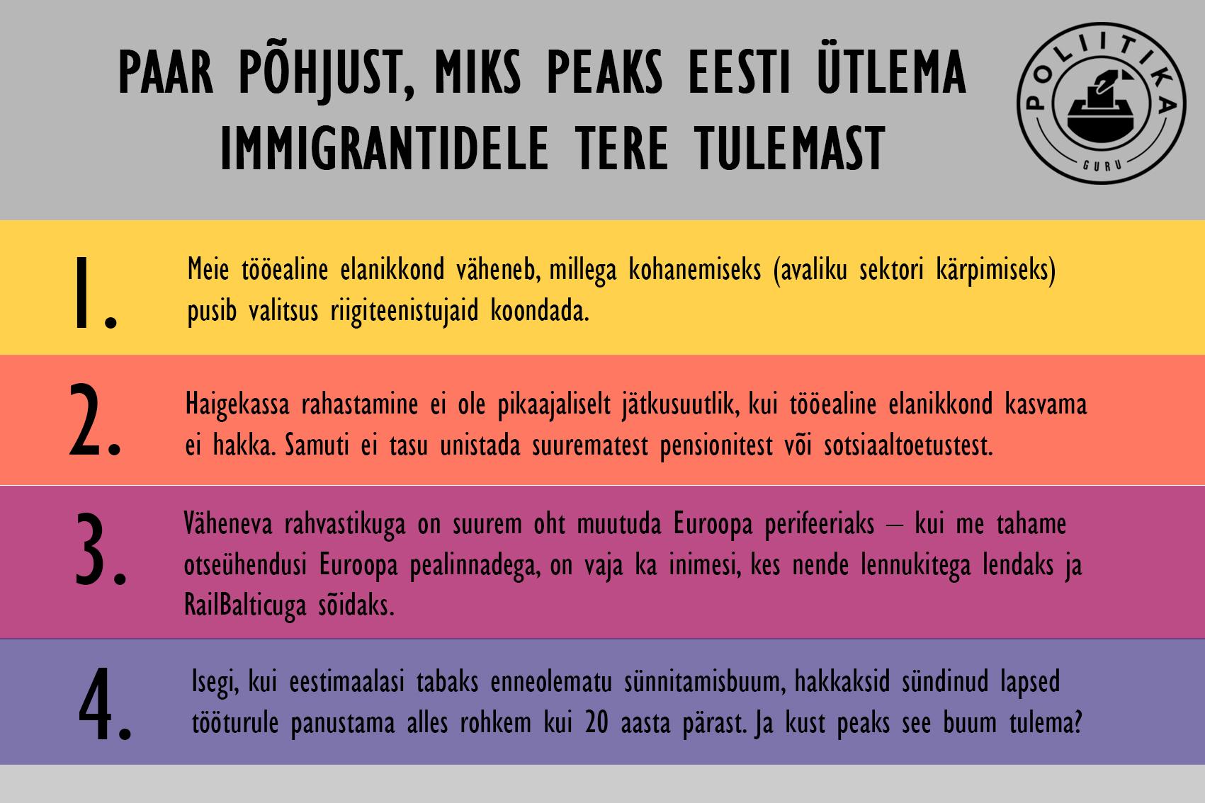 Tere tulemast, pagulased
