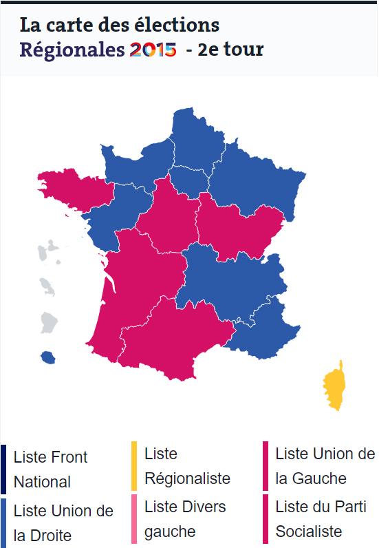 Le Monde Prantsusmaa esialgsed valimistulemused
