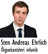 Sten Andreas Ehrlich autor ÕK